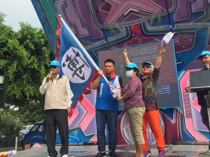 國民黨台南市長候選人高思博成立麻豆區後援會。記者吳政修/攝影