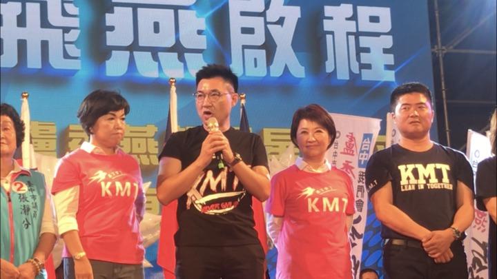 立委江啟臣呼籲這次國民黨大團結。記者陳秋雲/攝影
