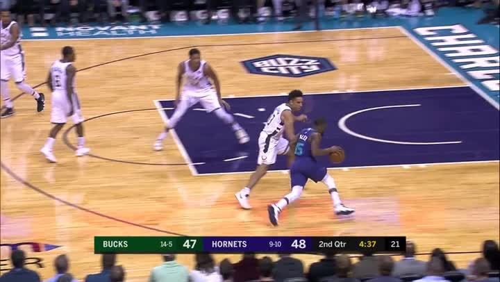 焦點對決- Giannis Antetokounmpo vs. Kemba Walker (11月27日)