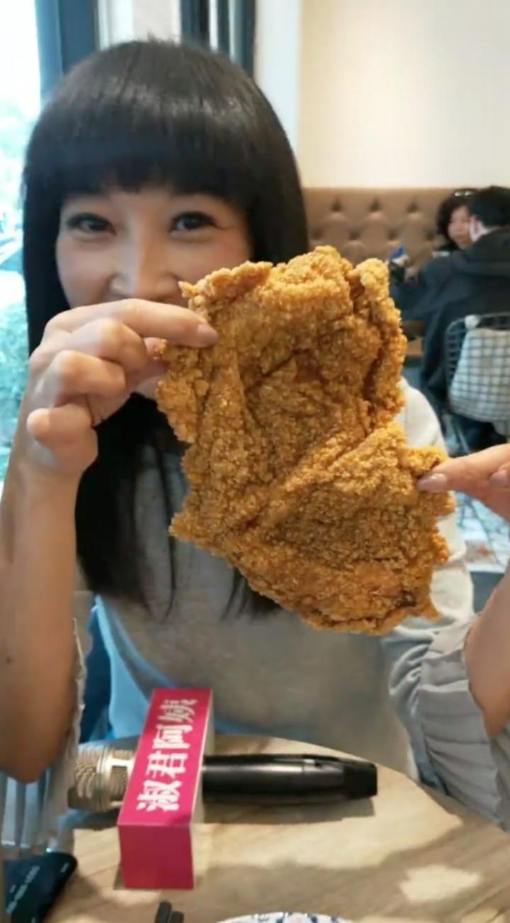 台灣人嗜吃雞排。圖/翻攝蔡淑君臉書