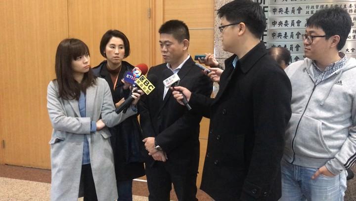 國民黨中常委曾文培。記者王寓中/攝影