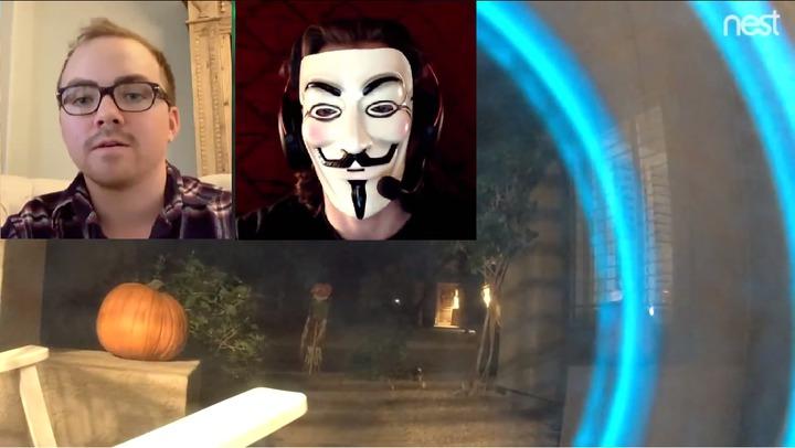 美國亞利桑那州一名房產經紀人格雷葛,家中的監視器遭「白帽」駭客入侵,警告說他的常用密碼已遭洩漏,成為駭客攻擊的高危險群。圖片擷取YouTube/Inside Edition