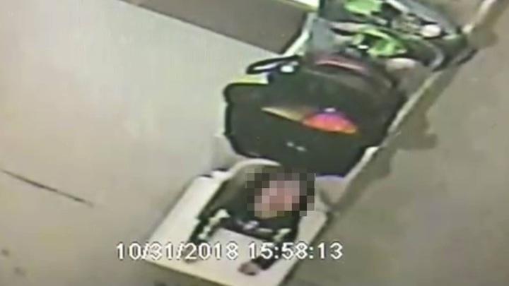 台中市南屯區文心南三路的托嬰中心被指控涉嫌將女童綁在椅子上,時間長達2至3小時。圖/摘自臉書爆料公社
