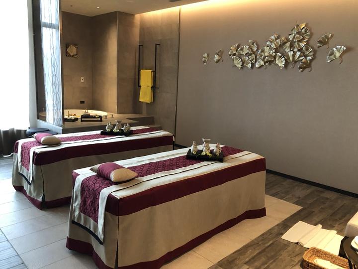 國際知名悅榕集團旗下的Angsana Spa,也進駐提供頂級Spa服務。記者宋健生/攝影