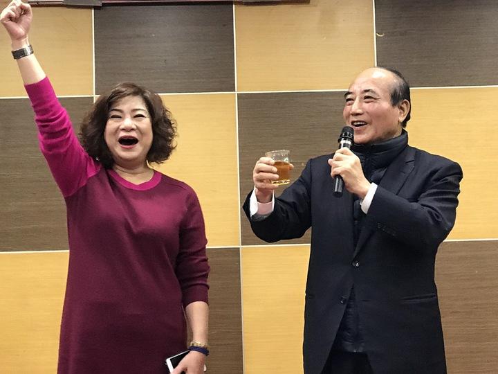 基隆市前議長宋瑋莉,今天晚上宣布要參選立委。記者吳淑君/攝影