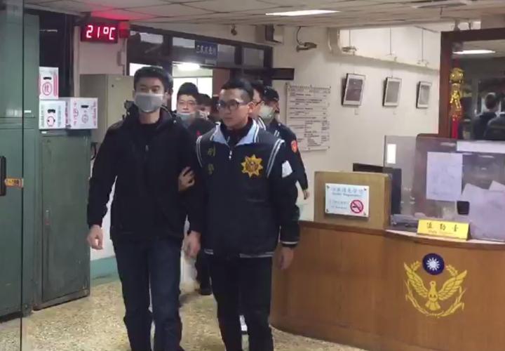 警方逮捕7名嫌犯,偵詢後移送法辦。記者林昭彰/翻攝