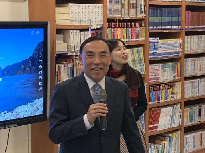 法務部長蔡清祥呼籲民間力量加入防制酒駕的推動。記者王聖藜/攝影