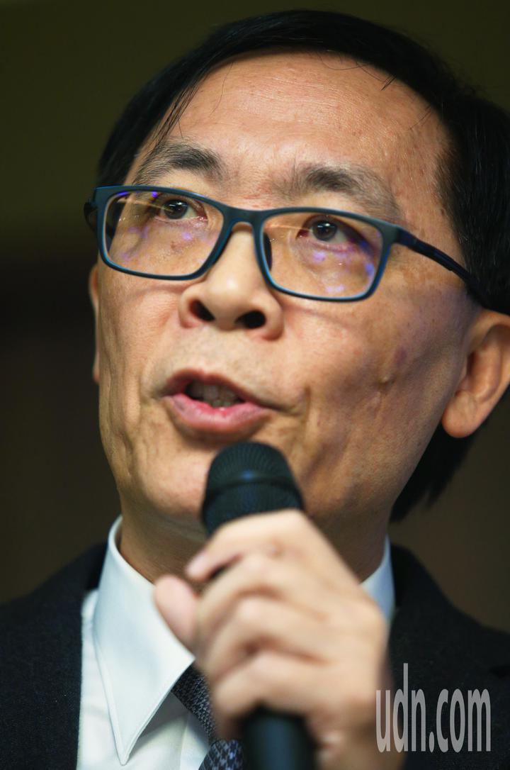 牧德科技法說下午舉行,由董事長汪光夏親主持、說明。記者陳正興/攝影