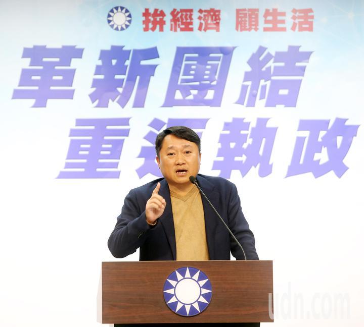 國民黨組發會主委李哲華表示,總統提名仍按原定時程,沒有改變。記者邱德祥/攝影