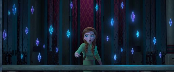 安娜露出憂心的表情。圖/翻攝自YouTube