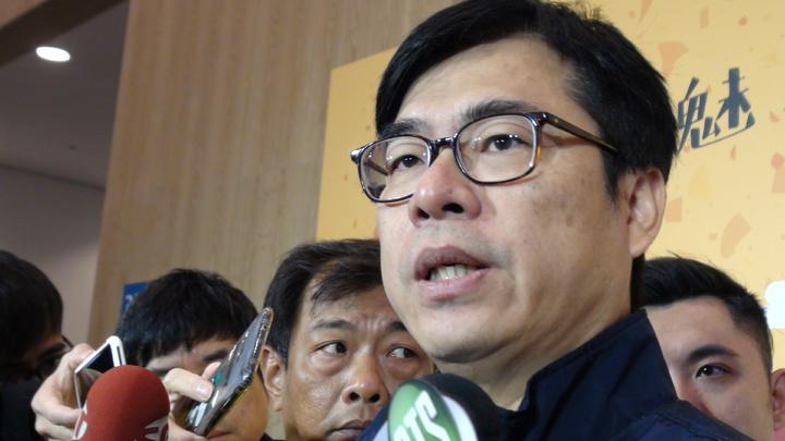行政院副院長陳其邁今天上午在高雄表示,中央補助高雄的前瞻計畫金額及計畫內容都不變。記者謝梅芬/攝影
