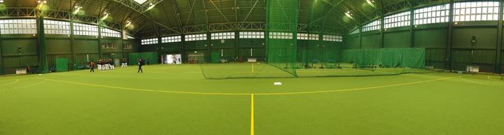 春野綜合運動公園室內練習場。記者葉姵妤/攝影