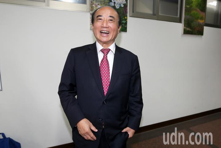 立法院前院長王金平上午回應媒體總統大選2020議題。記者胡經周/攝影