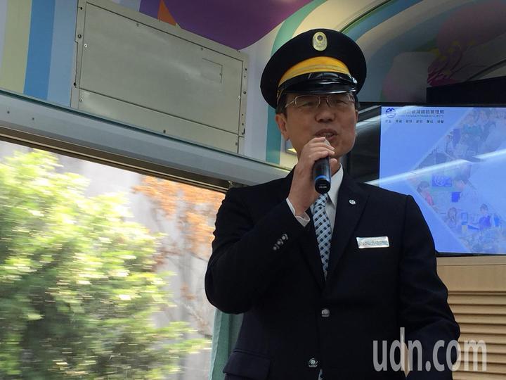 台鐵局長張政源。記者洪安怡/攝影