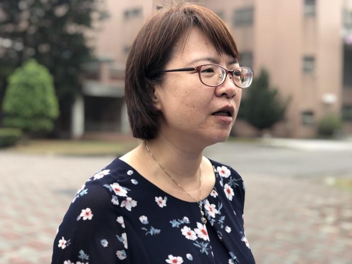 國立嘉義特教學校秘書蘇羽真說,學校今天上午針對朝天椒開第3次教評會,被控虐童的林姓女老師也有列席表達意見。記者王慧瑛/攝影