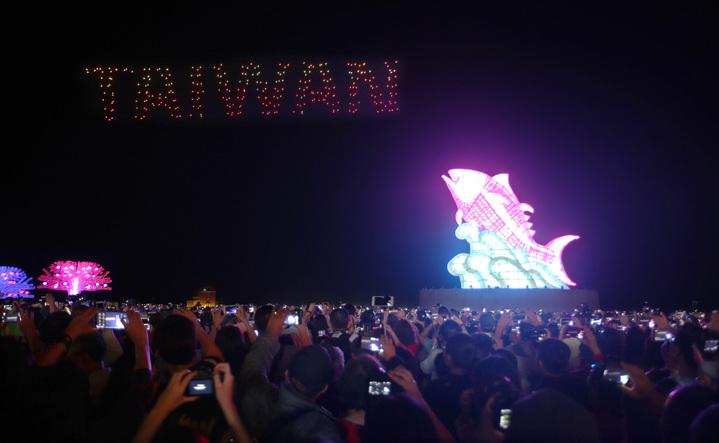 2019台灣燈會將迎來開幕後第一個週末,縣府預計人潮越來越多。記者劉學聖/攝影