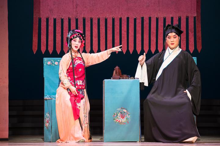「潘金蓮」脫胎自老戲「義俠記」,焦點卻從武松變成潘金蓮。圖/國家戲劇院提供