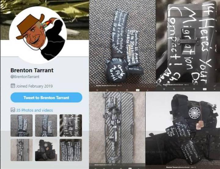 紐西蘭基督城爆發大規模槍擊案,Brendon Tarrant疑似為槍手之一,他在網上發表一份長達74頁犯罪宣言。New Zealand Herald