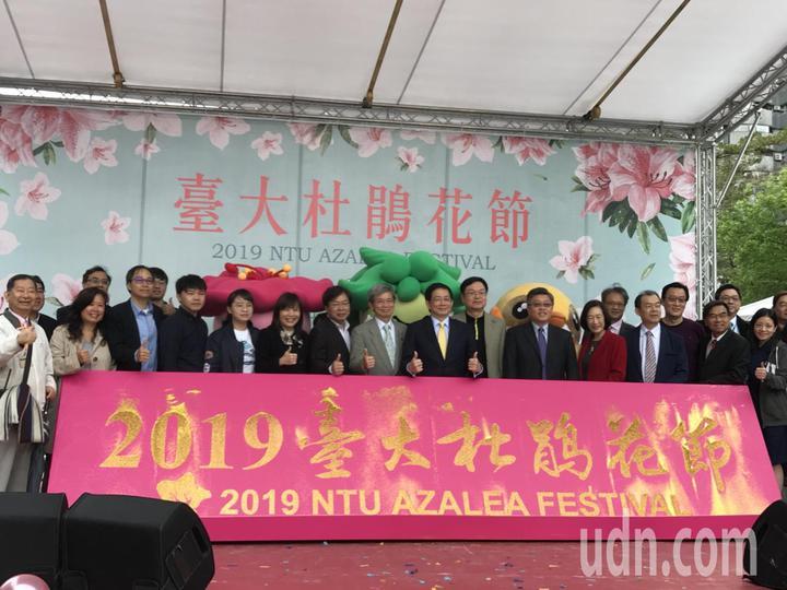 台大杜鵑花節今天開幕。記者馮靖惠/攝影