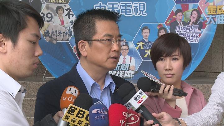 國民黨沒有拿下新北市三重區立委席次,鄭世維表示:「我相信我已經努力了」。記者謝育炘/攝影