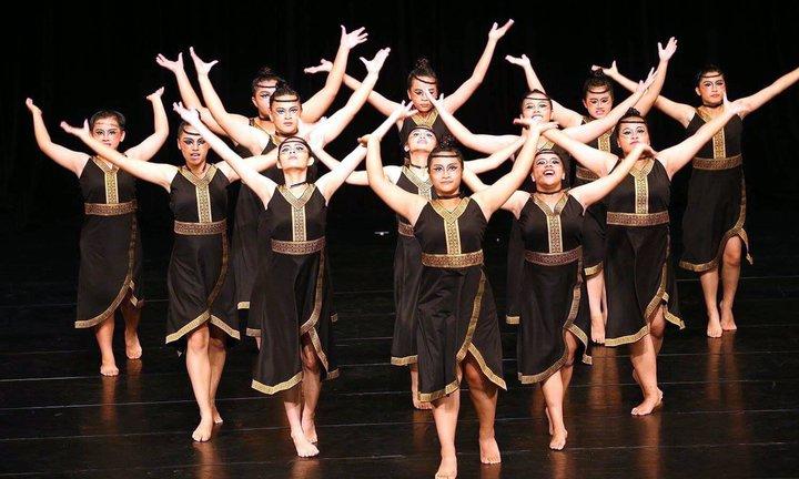 桃源國中的學生愛跳舞,再度獲得全國現代舞特優獎肯定。圖/桃源國中提供