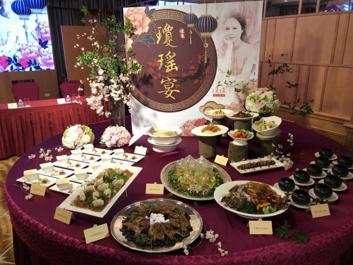 韓流「愛情經濟」發威,漢來推瓊瑤宴、瓊瑤房。記者林政鋒/攝影