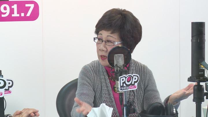 前副總統呂秀蓮接受電台專訪,談賴清德登記總統初選,她認為這是這是民主美事一件,並向陳菊喊話:「take easy」。記者謝育炘/攝影