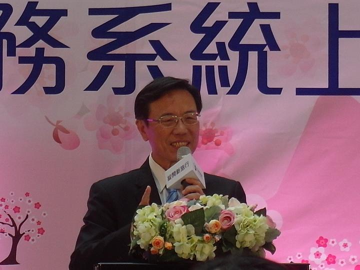 台鐵局長張政源。  記者何佩儒/攝影