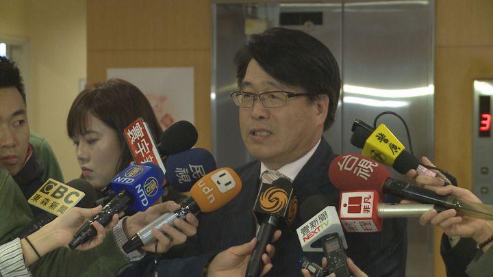 台灣民意基金會董事長游盈隆表示,目前當權派都比較支持蔡英文,但他強調民意是站在賴清德這邊。記者顏凱勗/攝影