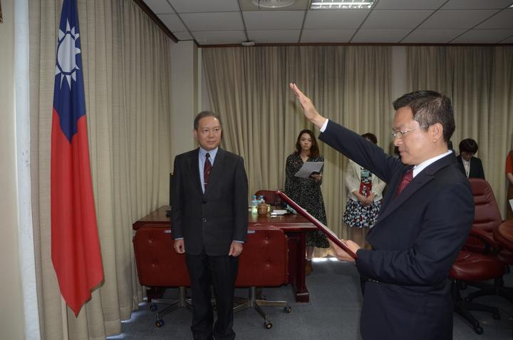 自來水公司董監事會今通過魏明谷擔任董事長。記者陳秋雲/攝影