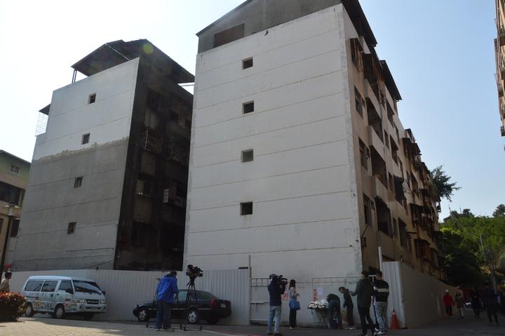 五股西雲路海砂屋年中前可望拆除重建。記者施鴻基/攝影
