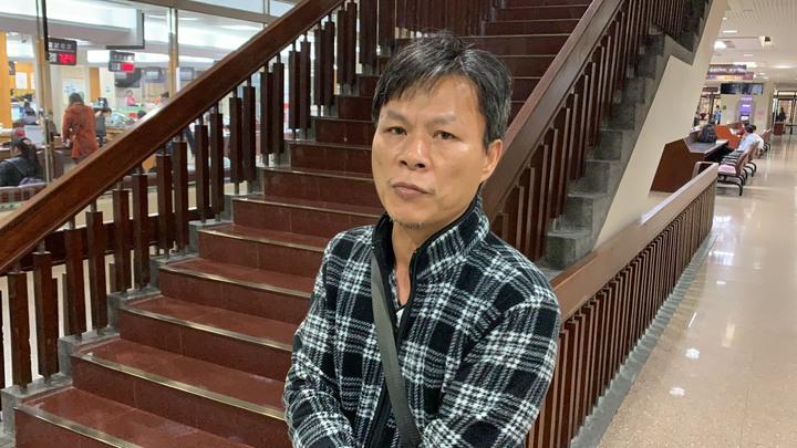 警專學生家長廖昭和控告警專中隊長張一平:他有遺棄之嫌。記者王聖藜/攝影