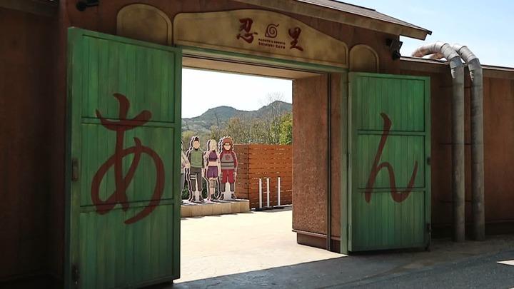 「NARUTO&BORUTO 忍里」是以動漫火影忍者、火影新世代為主題的樂園。記者蔡佩芳/攝影