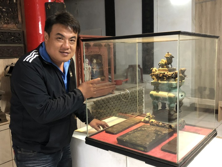 金城鎮長李誠智介紹,此次展出的珍貴文物還有「敕封顯佑伯符板」為一長方形木拓板,是當年慶典必用的,歡迎民眾前往觀賞。記者蔡家蓁/攝影