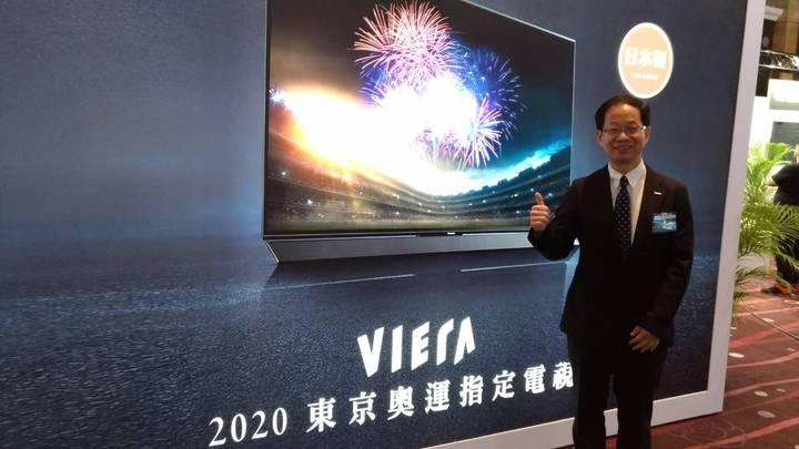 話題十足的最新Panasonic薄型4K電視來台,憑著影像科技的不斷創新,再度成為2020東京奧運官方唯一指定電視。記者張義宮/攝影