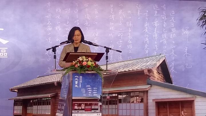蔡英文總統上午表示,中國在台灣社會有一定程度介入。記者鄭國樑/攝影