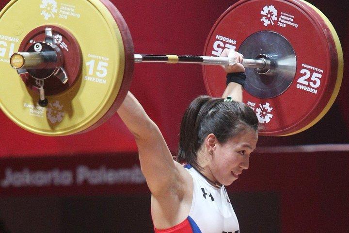 郭婞淳在2019亞洲舉重錦標賽,在女子59公斤級賽事奪金,且抓舉、挺舉舉及總和成績都破世界紀錄。聯合報系資料照片
