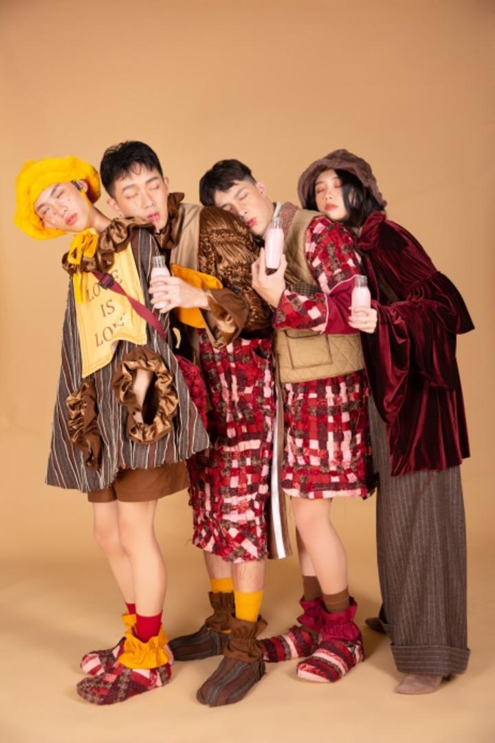 台南應用科大服裝競賽校外動態展演,師生保證精彩。圖/學生提供