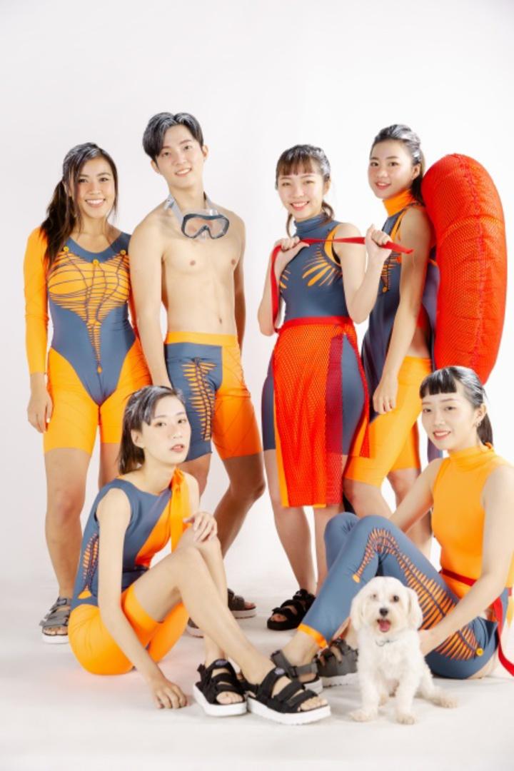 服裝競賽校外動態展演,師生保證精彩。圖/學生提供