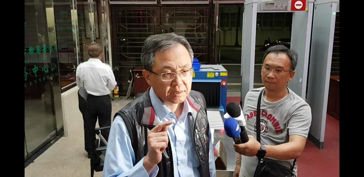 盛達電負責人陳忠廷說,「盛達是清白的,且是無辜的受害者。」記者張宏業/攝影