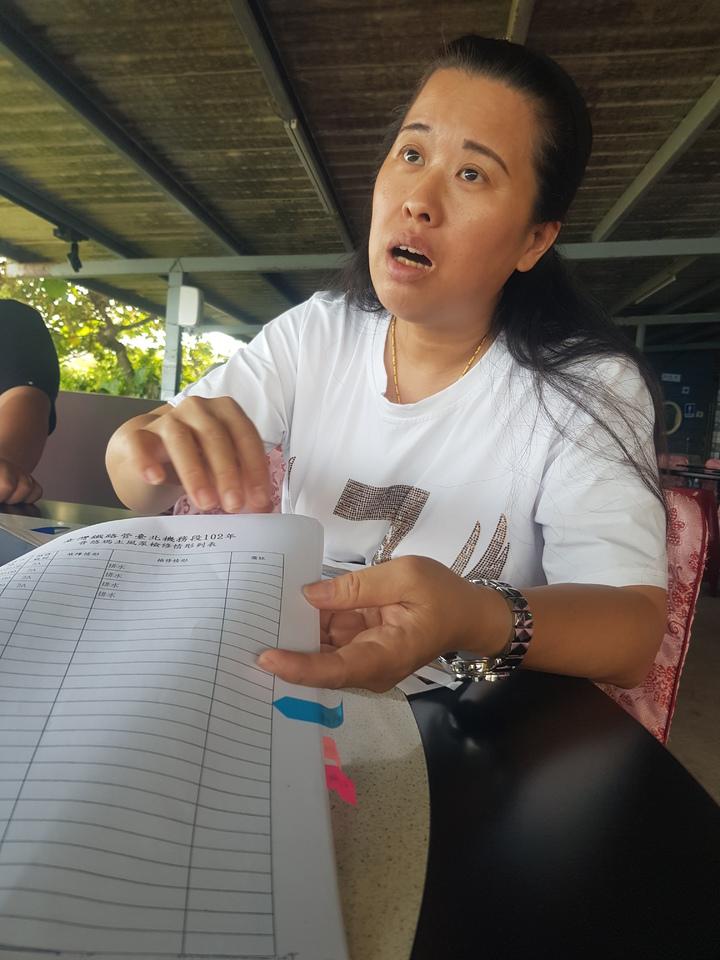 董家長女董小羚控訴「台鐵奪走的不只是我家8條命,而是毀掉我們家族。」記者廖惠玲/攝影