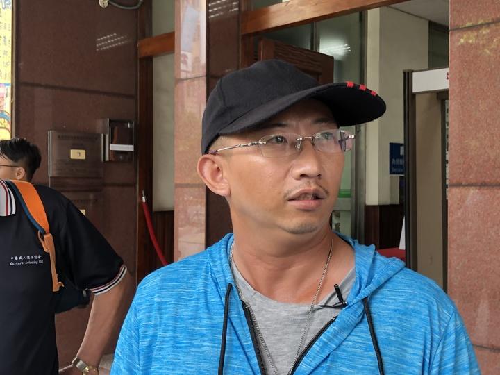 謝志宏表示,警訊時遭言詞恐嚇且被打,當時很害怕,所以陳述內容是照警方交待來講。記者邵心杰/攝影