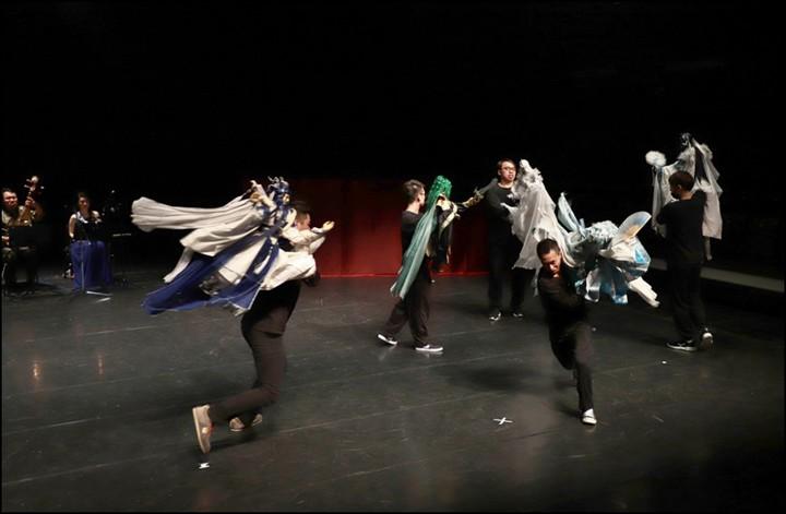 三昧堂和迴響樂集結合的「布袋戲音樂劇」已進行了4年,每年推出新作品。。圖/嚴仁鴻提供