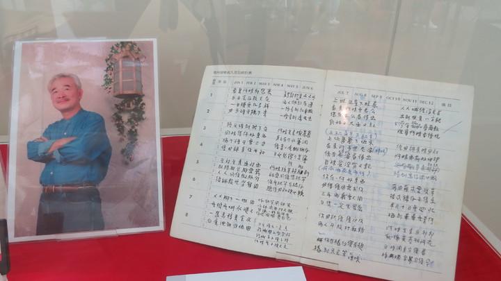「客家本色」作曲家涂敏恆的手稿,台灣客家文化館也有蒐藏。記者范榮達/攝影
