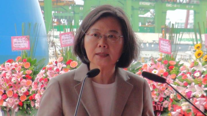 蔡英文說,去年選市長這麼多的高雄人選韓國瑜,對韓擔任高雄市長是有期待的,也希望他能履行在選舉時對高雄市民的承諾。記者謝梅芬/攝影