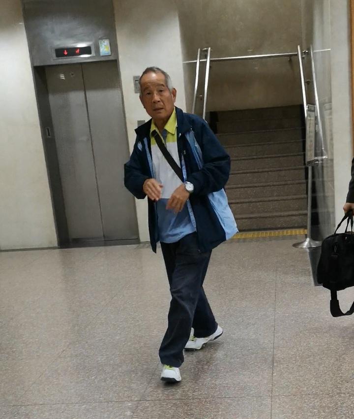 謝燈灴(66歲)是國巨老臣,有財務專長,以往是陳泰銘倚重的重要幹部。記者張宏業/攝影