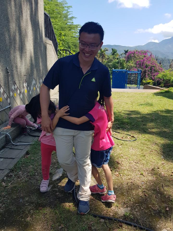 「山上的孩子很有愛」,呂家賢選擇偏鄉任教。記者廖惠玲/攝影