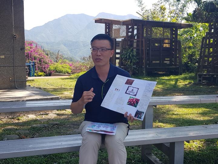 從規劃到實現,呂家賢帶孩子克服困難完成一場環島自助旅行。記者廖惠玲/攝影