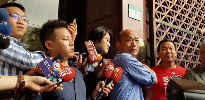 高雄市長韓國瑜上周控告吳子嘉誹謗。記者張宏業/攝影