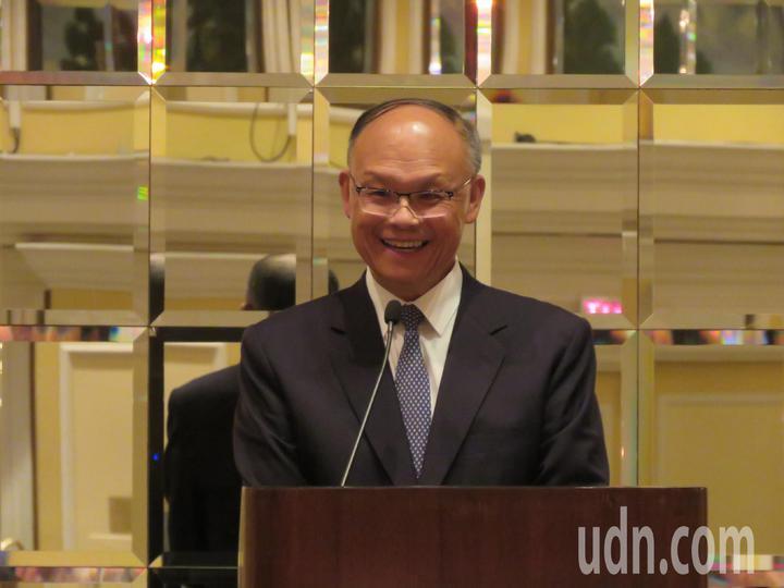 行政院政務委員鄧振中。華盛頓記者張加/攝影